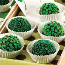 St. Patty's Day Mud Balls