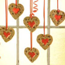 Valentine Heart Ornaments