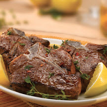 Grilled Lemon Pepper Lamb Chops