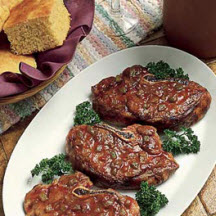 Mexican Barbecued Lamb Steaks
