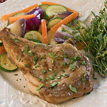 Simply Sensational Veal Chops
