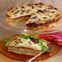 Spanish Onion and Potato Torta | Recipe |Potato Torta