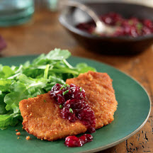 Ginger-Crusted Pork Cutlets
