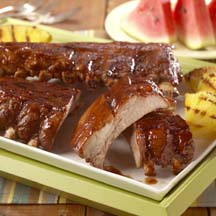 'Hoot-n Holler' Baby Back Pork Ribs