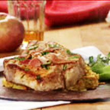Pork Chops with Sweet Potatoes and Apples
