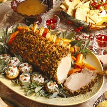 Rack of Pork with Parsleyed Crumbs