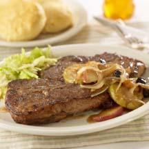 how to use dijon mustard on steak