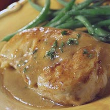 Broiled Chicken Breast with Lemon Sauce