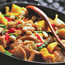 Chicken and Mango Stir-Fry