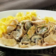 Chicken Tenders Stroganoff
