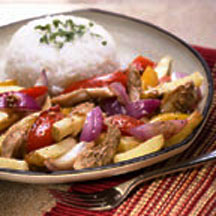 Peruvian Chicken Stir-Fry