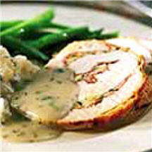 Prosciutto-Stuffed Turkey Breast