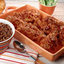 Southern Fried Barbecue Chicken