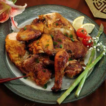 Vietnamese Oven-Baked Cornish Game Hens