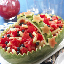 Americana Watermelon Basket