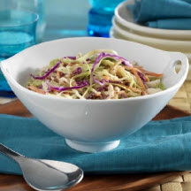 Jicama and Red Cabbage Slaw