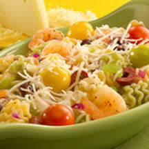 Zesty Shrimp Salad with Asiago