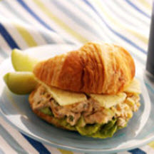 Chicken Salad Sandwich with Havarti Cheese
