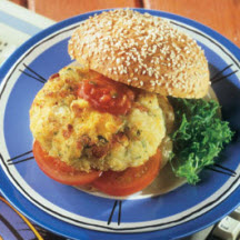 Herby Fish Burgers