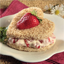 Sweetheart Sandwiches