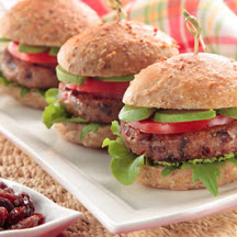 Yum Yum Veggie Sliders with California Raisins