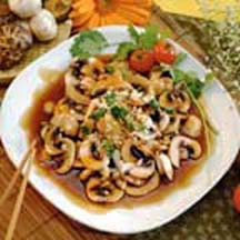 Sauté of Mushrooms with Maggi Sauce