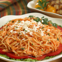 Vermicelli with Creamy Tomato Sauce
