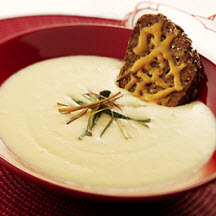 Cauliflower and Aged Cheddar Soup
