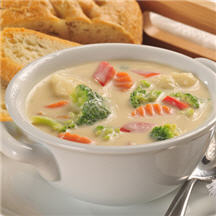 Cream of Mixed Vegetable Soup